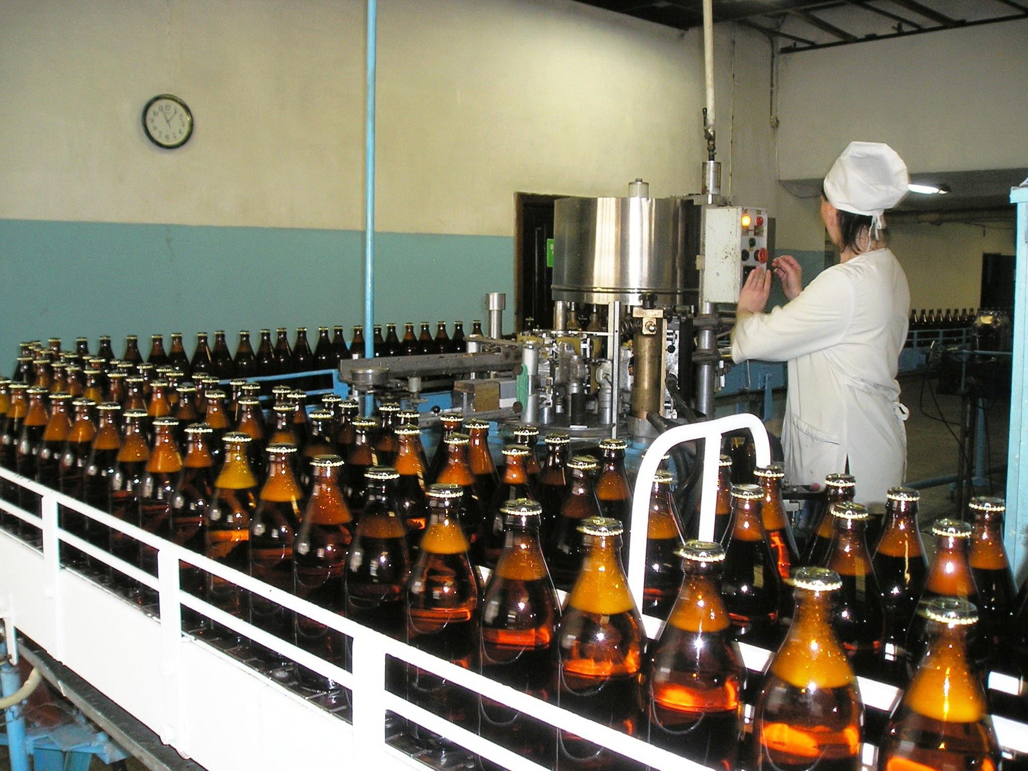 Фото производства напитков
